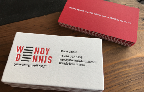 Passion Letterpress - Business Cards