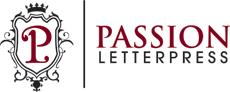 Passion Letterpress - Logo 230x92